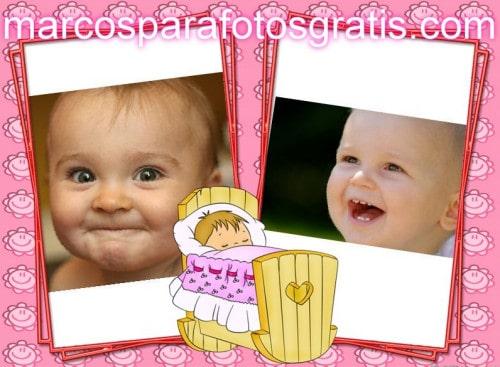 Marcos infantiles gratis marcos para fotos online - Marcos fotos bebes ...